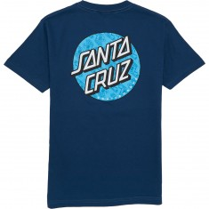 Santa Cruz Hand Fill Dot T-Shirt - Harbor Blue