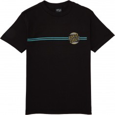 Santa Cruz Serape Dot T-Shirt - Black/Metallic