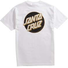 Santa Cruz Other Dot T-Shirt - White/Black/Gold