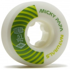 Ricta Micky Papa Pro Naturals 99a Skateboard Wheels - 51mm