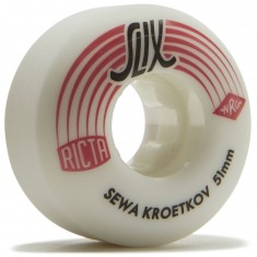 Ricta Sewa Kroetkov SLIX 99a Skateboard Wheels - 51mm