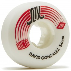 Ricta David Gonzalez SLIX 99a Skateboard Wheels - 54mm - Red