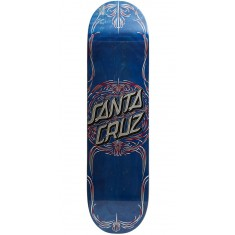 Santa Cruz Pinstripe Dot Hard Rock Maple Skateboard Deck - 8.25