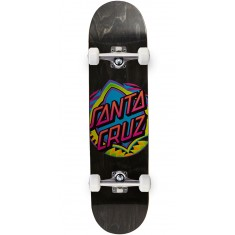 Santa Cruz Neon Dot Hard Rock Maple Skateboard Complete - 7.75