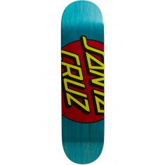 Santa Cruz Big Dot Team Skateboard Deck - 8.125