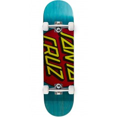 Santa Cruz Big Dot Team Skateboard Complete - 8.125