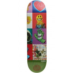 Santa Cruz Ron English POPaganda Three Team Skateboard Deck - 8.375