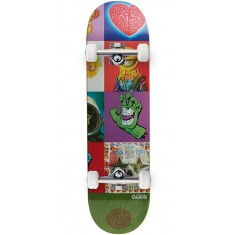 Santa Cruz Ron English POPaganda Three Team Skateboard Complete - 8.375