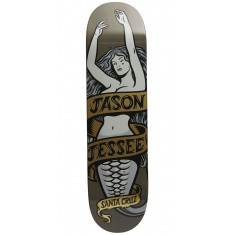 Santa Cruz Jessee Mermaid Pro Skateboard Deck - 8.0