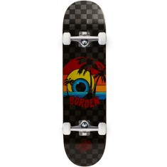 Santa Cruz Borden Sunset Pro Skateboard Complete - 8.0