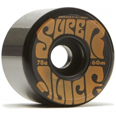 OJ Super Juice Black 78a Skateboard Wheels - 60mm