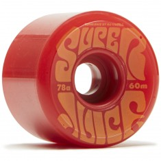 OJ Super Juice Red 78a Skateboard Wheels - 60mm