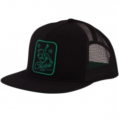 Creature Skateboards Bottoms Up Trucker Hat - Black