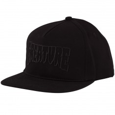Creature Skateboards Logo Weld Snapback Hat - Black