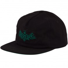 Creature Skateboards Batty Snapback Hat - Black