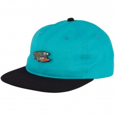 Santa Cruz Pinned Slasher Hat - Aqua/Black