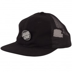 Santa Cruz Pinned Opus Trucker Hat - Black