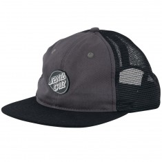 Santa Cruz Pinned Opus Trucker Hat - Charcoal/ Black