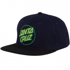 Santa Cruz Other Dot Snapback Hat - Navy/ Black