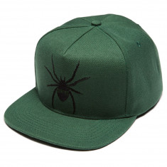 Creature Skateboards Arachnid Snapback Hat - Dark Green