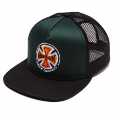Independent Skateboard Trucks 2 Color TC Trucker Hat - Forest Green