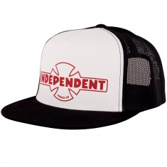 Independent Skateboard Trucks OG Trucker Hat - White/ Black