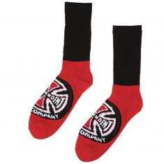 Independent Skateboard Trucks Banner Socks - Black