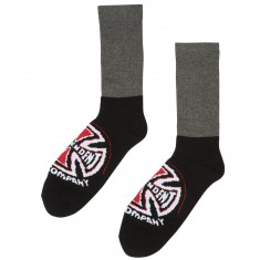 Independent Skateboard Trucks Banner Socks - Charcoal