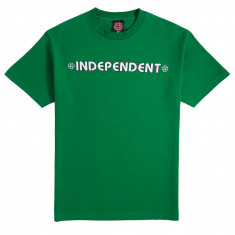 Independent Bar Cross T-Shirt - Kelly Green