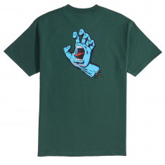 Santa Cruz Screaming Hand T-Shirt - Forest Green
