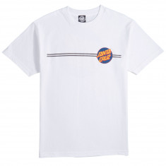Santa Cruz Other Dot T-Shirt - White/Navy