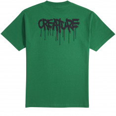 Creature Skateboards Blood T-Shirt - Kelly Green