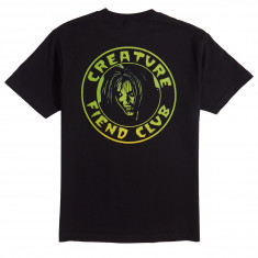 Creature Skateboards Fiend Club T-Shirt - Black