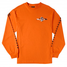 Independent Hazard Long Sleeve T-Shirt - Orange