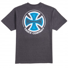 Independent 2 Color TC T-Shirt - Charcoal Heather