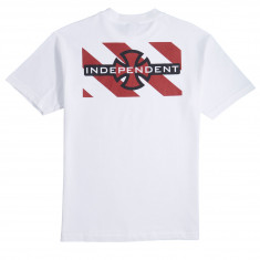 Independent Hazard T-Shirt - White