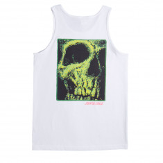 Santa Cruz Street Creep Redux Tank Top - White