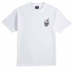 Santa Cruz Abyss Dot T-Shirt - White