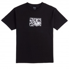 Santa Cruz Skull Block T-Shirt - Black