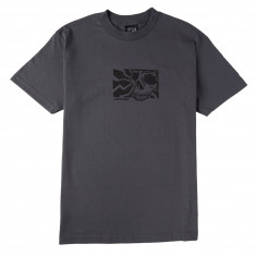 Santa Cruz Skull Block T-Shirt - Charcoal