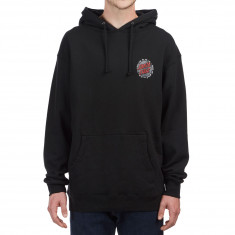 Santa Cruz Shredded Dot Pullover Hoodie - Black