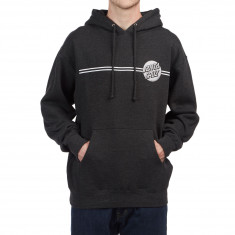 Santa Cruz Other Dot Pullover Hoodie - Charcoal Heather/Silver