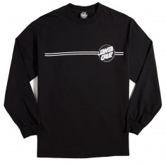 Other Dot Long Sleeve T-Shirt - Black/Silver