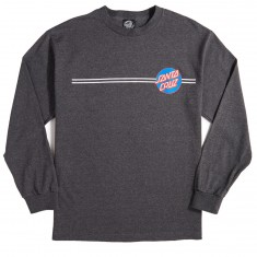Other Dot Long Sleeve T-Shirt - Charcoal Heather