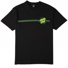 Santa Cruz Other Dot T-Shirt - Black/Green