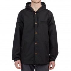 Creature Clean Windbreaker Jacket - Black