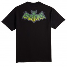 Creature Skateboards Batty T-Shirt - Black