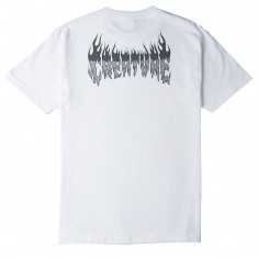 Creature Skateboards Firestarter T-Shirt - White
