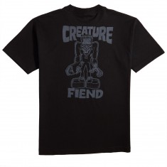 Creature Skateboards Frankenfiend T-Shirt - Black