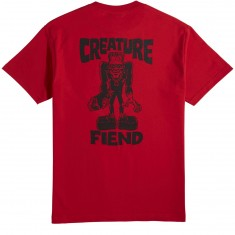 Creature Skateboards Frankenfiend T-Shirt - Red